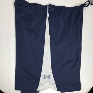 Under Armour Navy Athletic Drawstring Shorts